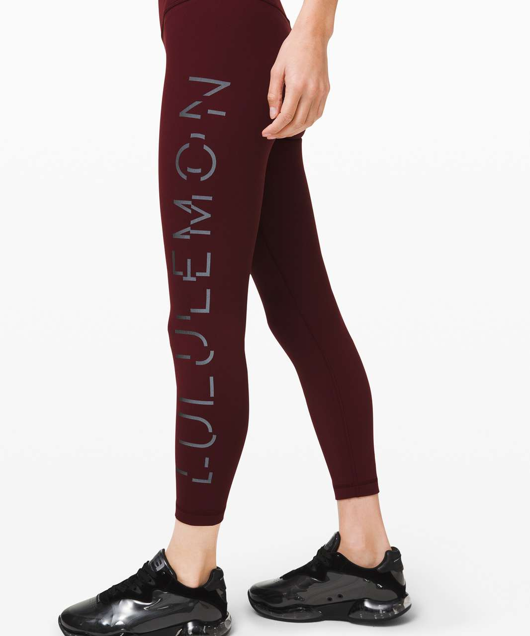 "Lululemon Wunder Under High-Rise Tight 25"" *Lunar New Year - Garnet"