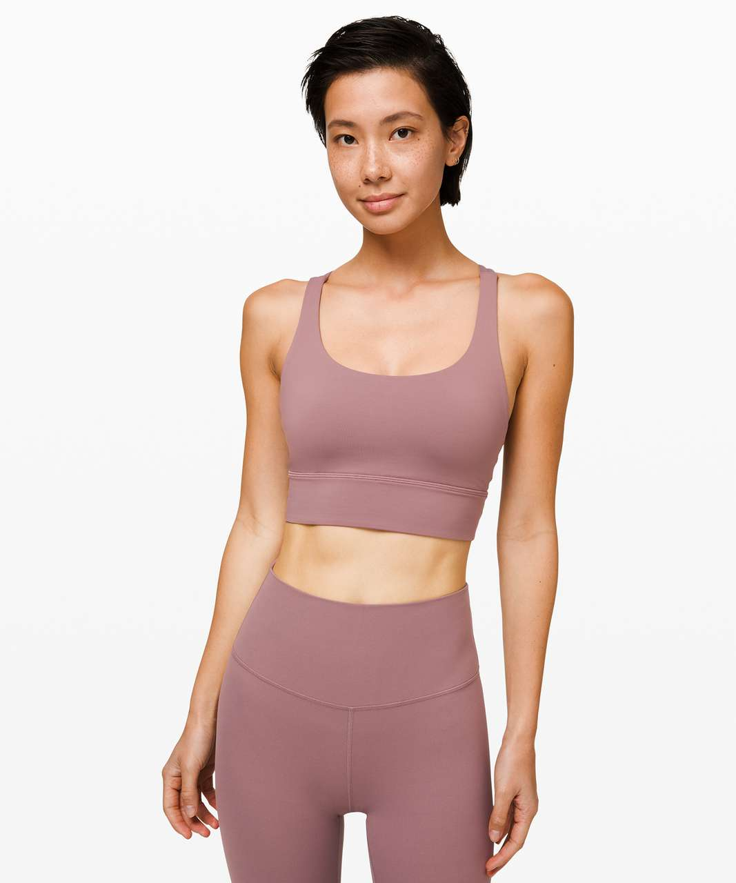Lululemon Energy Bra Long Line *Lunar New Year - Misty Mocha