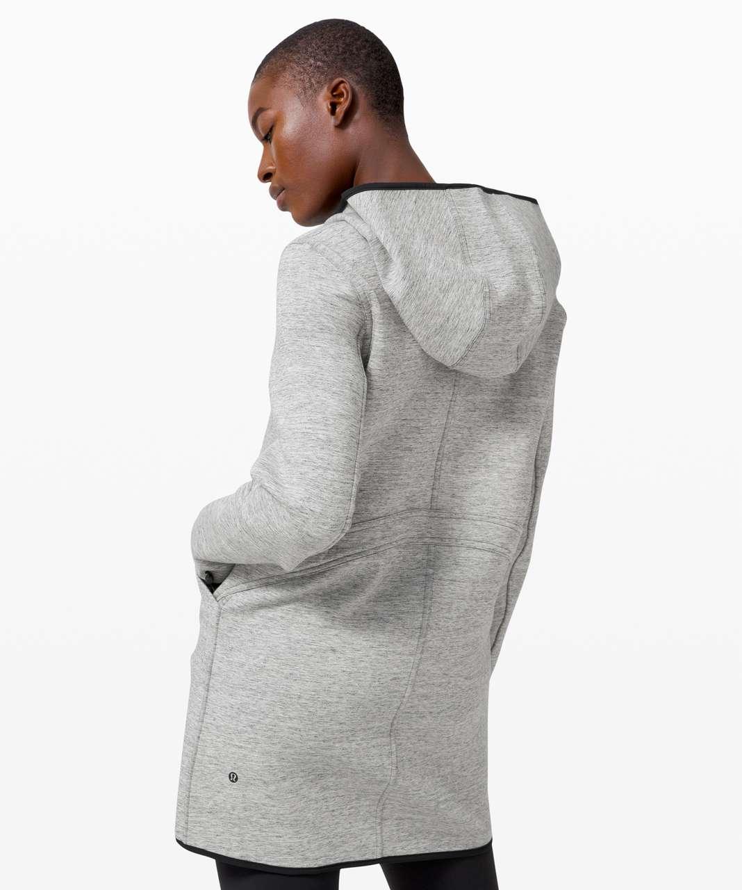 Lululemon Urban Horizons Jacket - Heathered Space Dyed Medium Grey / Black