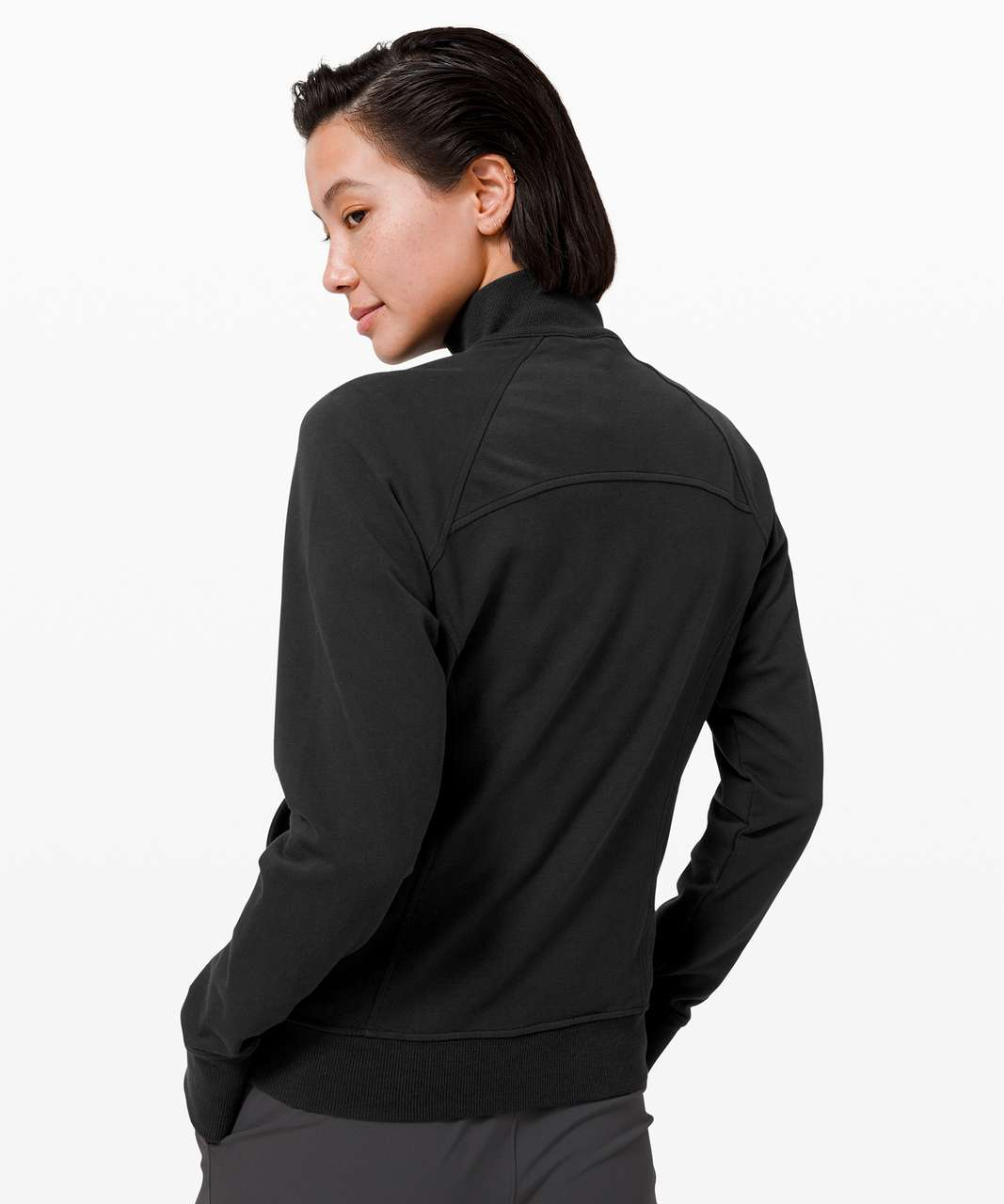 Lululemon Scuba 1/2 Zip - Black