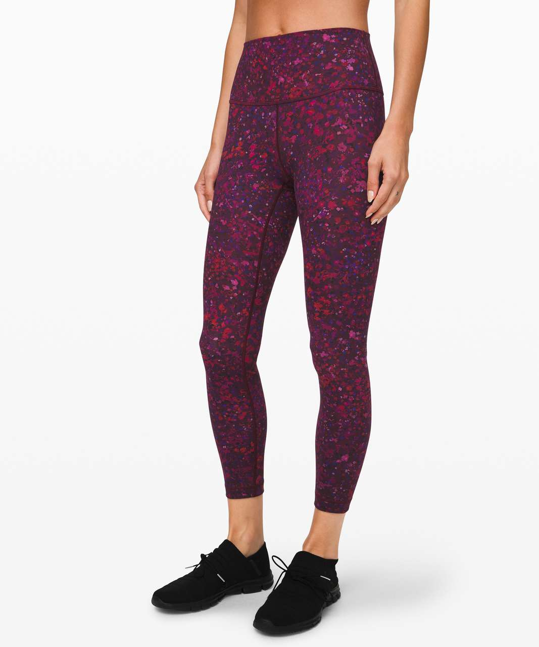 "Lululemon Wunder Under High-Rise Tight 25"" Full-On Luxtreme *Lunar New Year - Ornemental Floral Multi"
