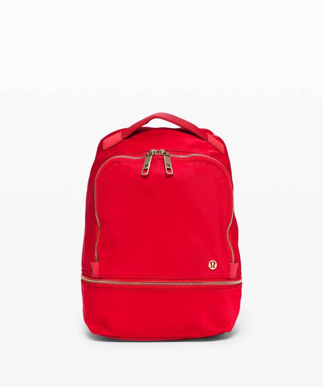 Lululemon City Adventurer Backpack Mini 10L *Lunar New Year - Dark Red