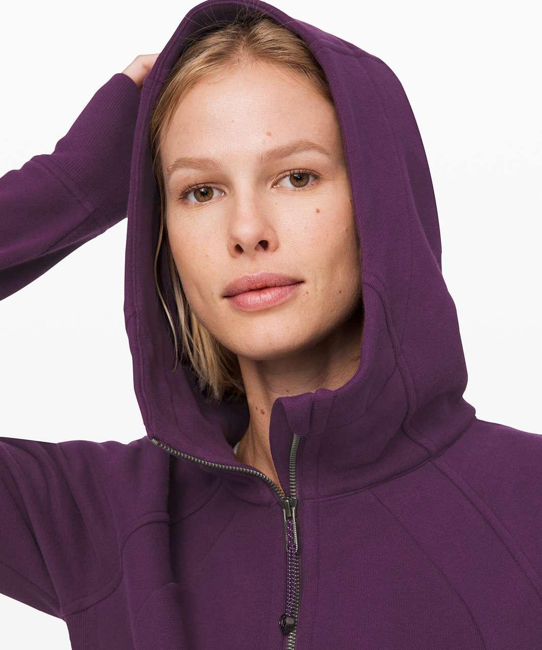 Lululemon Scuba Hoodie *Light Cotton Fleece - Galactic Grape