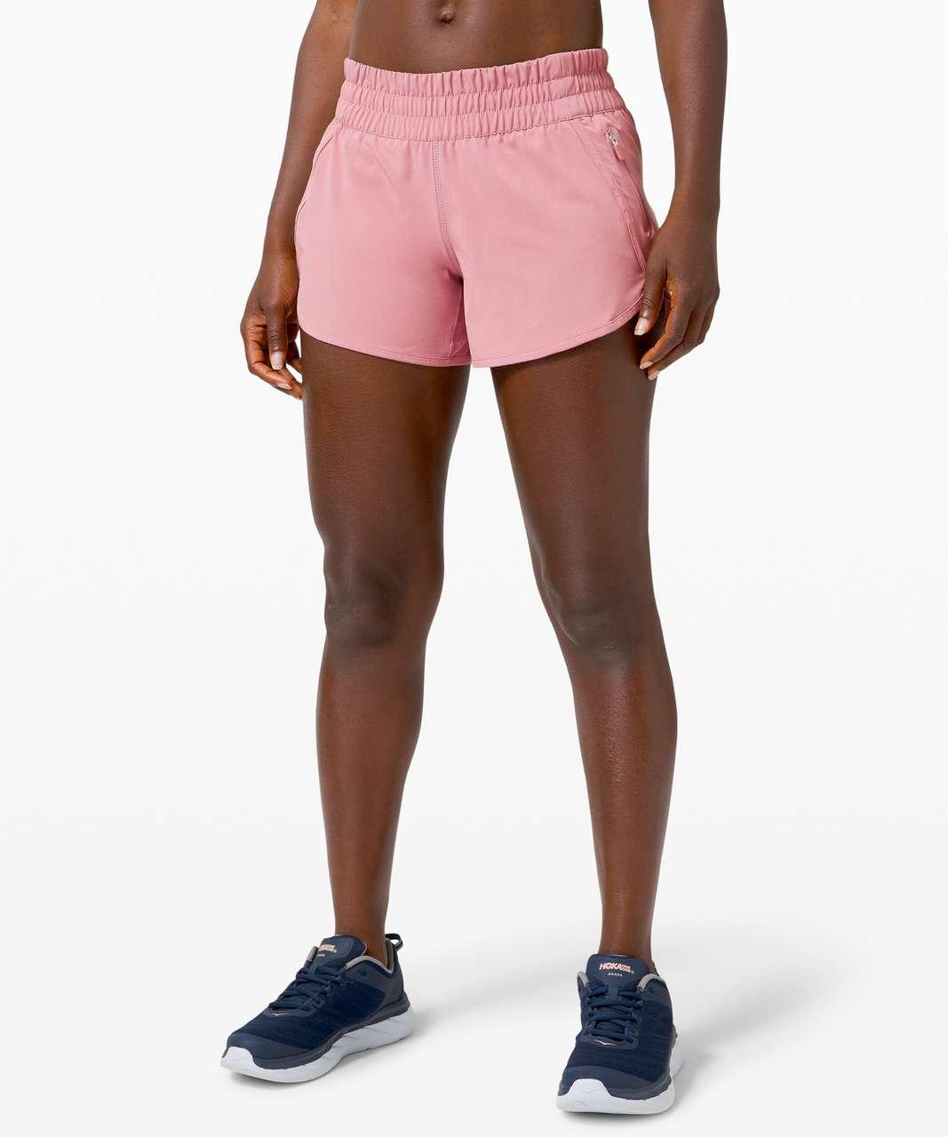 """Lululemon Tracker Short V *4"""" - Pink Taupe"""