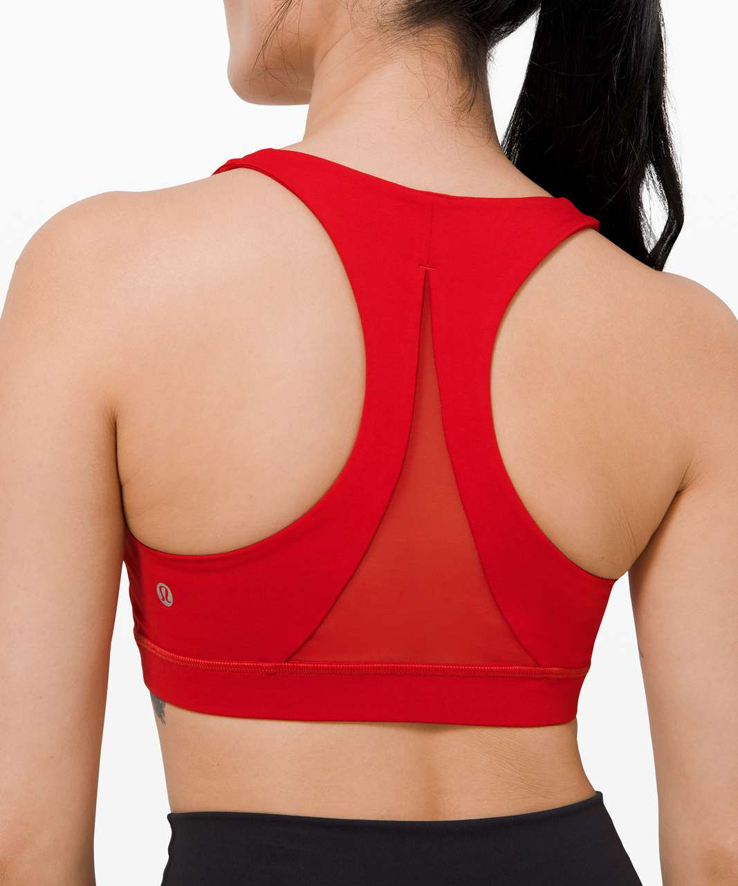 Lululemon Invigorate Bra *Medium Support, B/C Cup - Dark Red