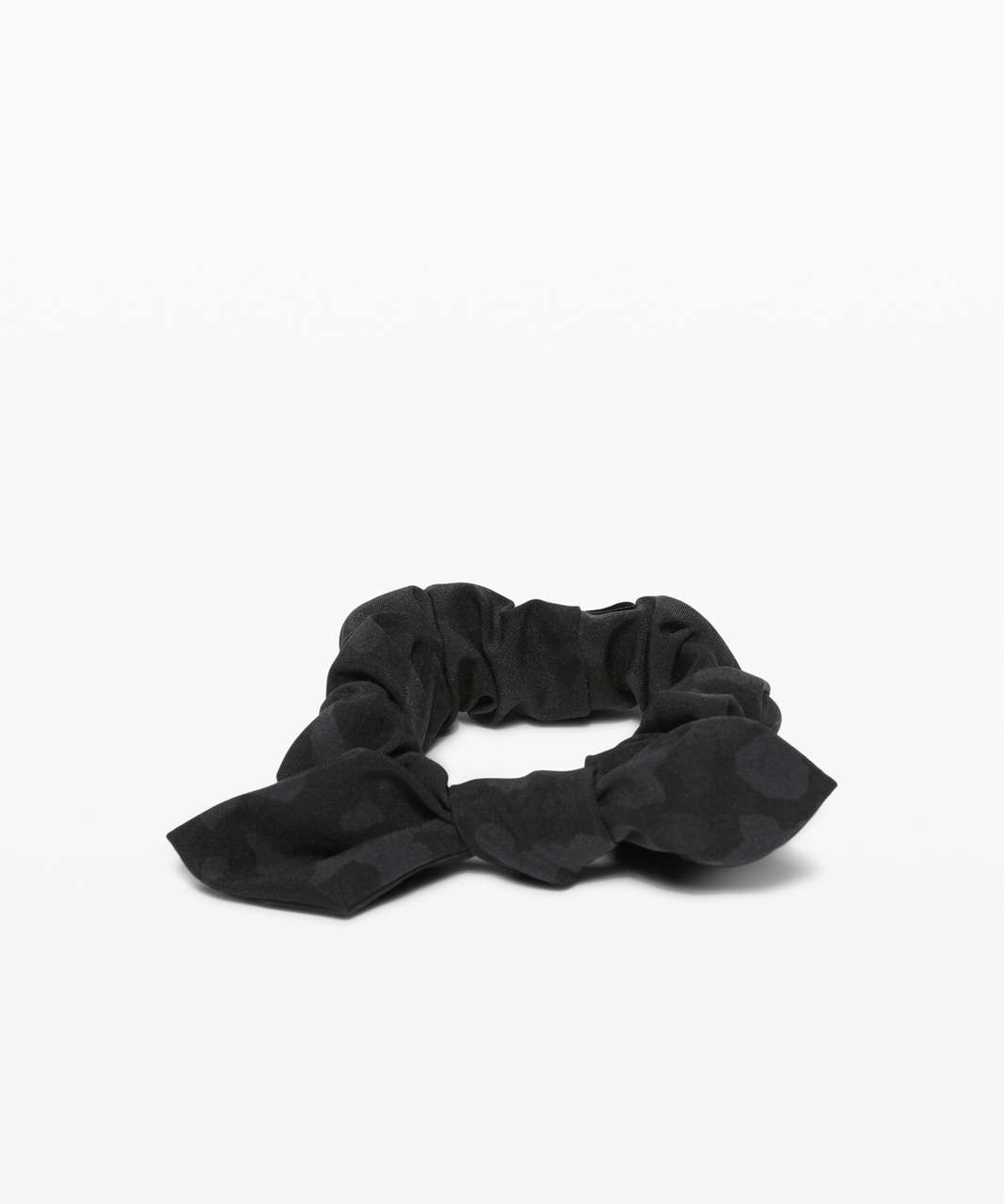 Lululemon Uplifting Scrunchie *Bow - Formation Camo Deep Coal Multi
