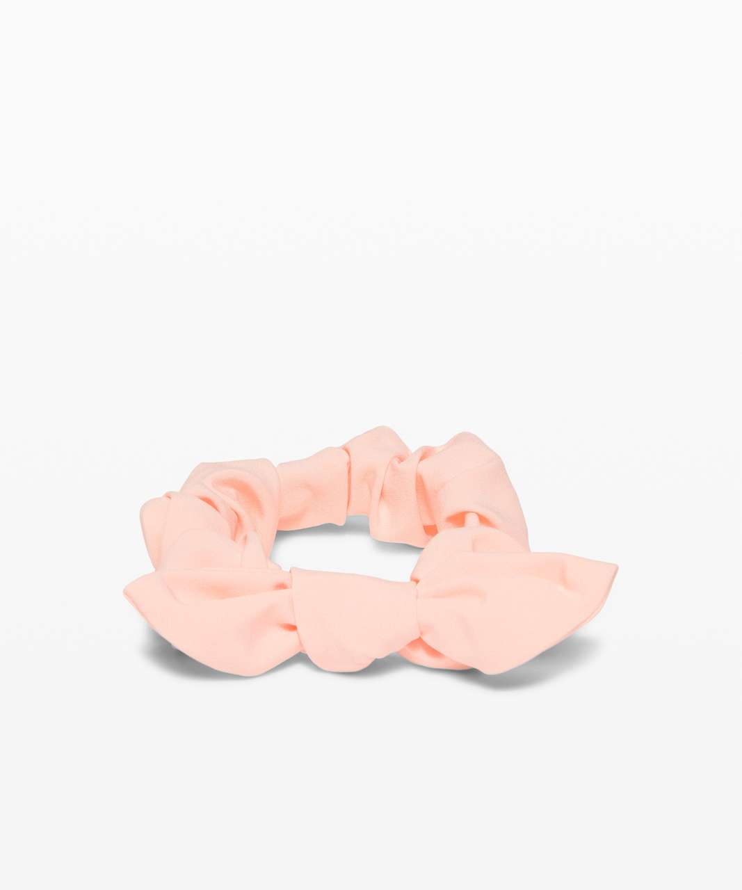 Lululemon Uplifting Scrunchie *Bow - Ballet Slipper
