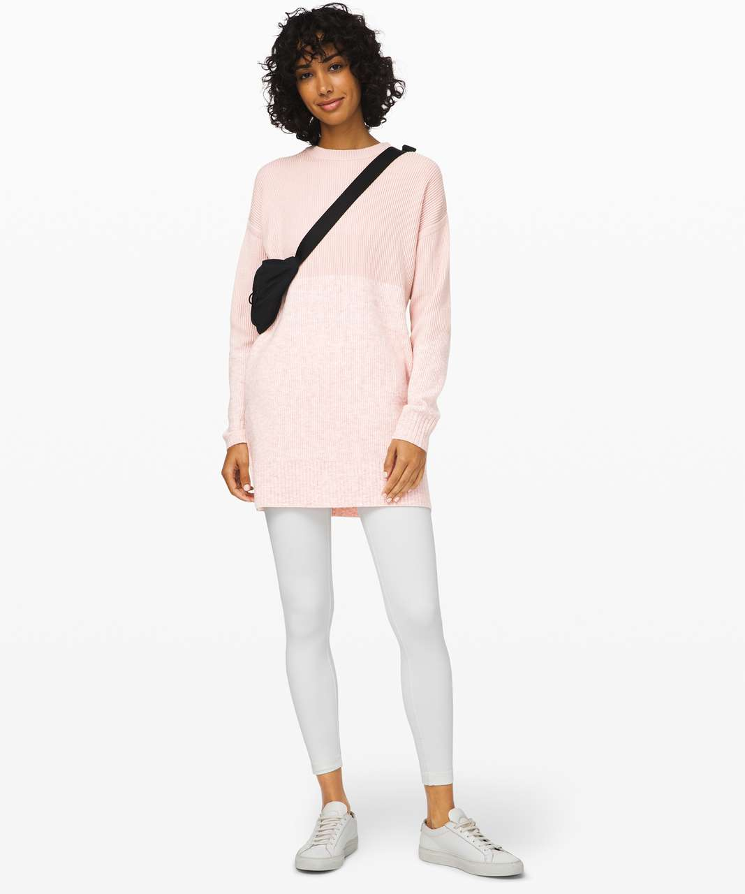 Lululemon Restful Intention Sweater - Pink Bliss / Heathered Pink Bliss