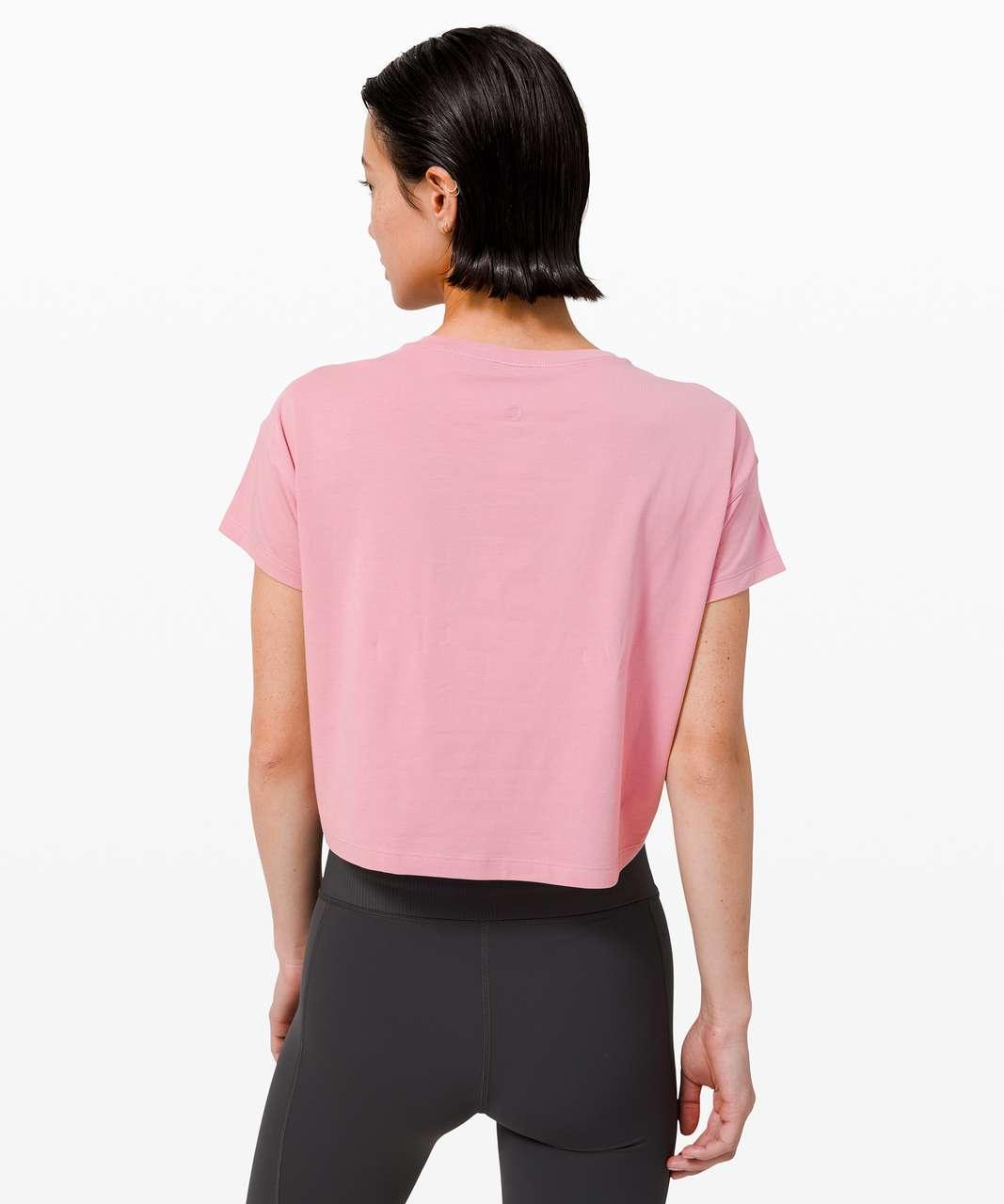 Lululemon Cates Tee - Pink Taupe