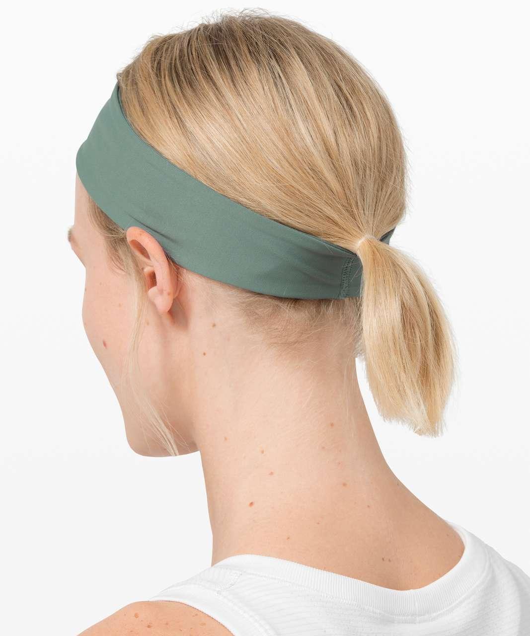 Lululemon Fly Away Tamer Headband II - Tidewater Teal