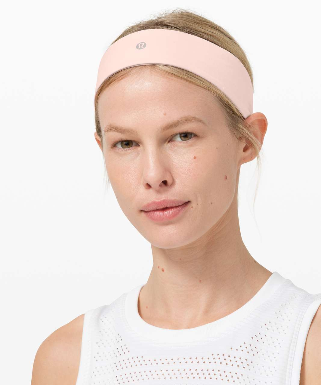 Lululemon Fly Away Tamer Headband II - Ballet Slipper