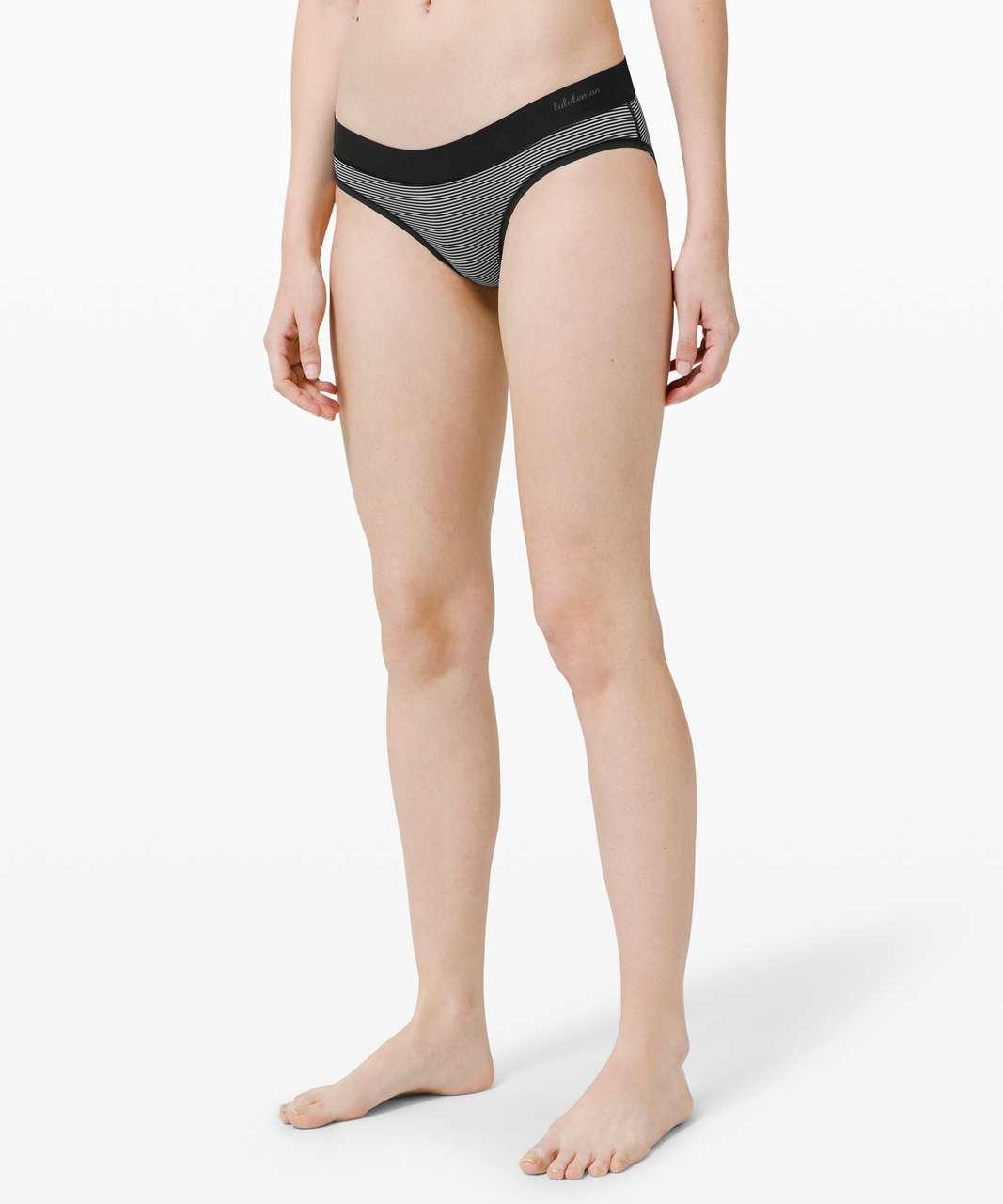 Lululemon Mula Bandhawear Bikini *3 Pack - Black / Misty Shell / Black