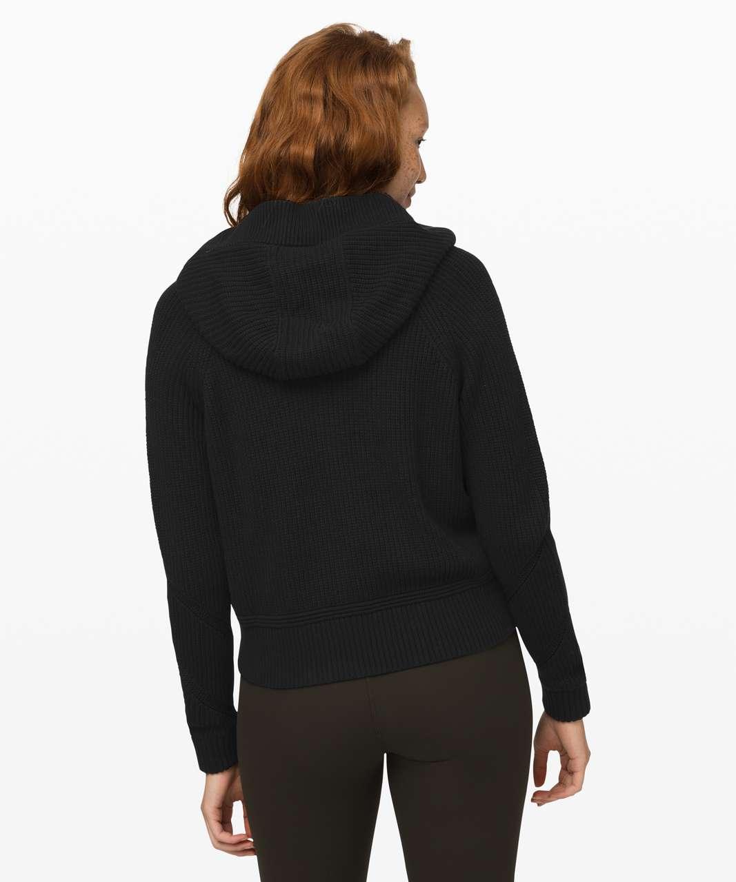 Lululemon Rest Assured Full Zip Hoodie - Black