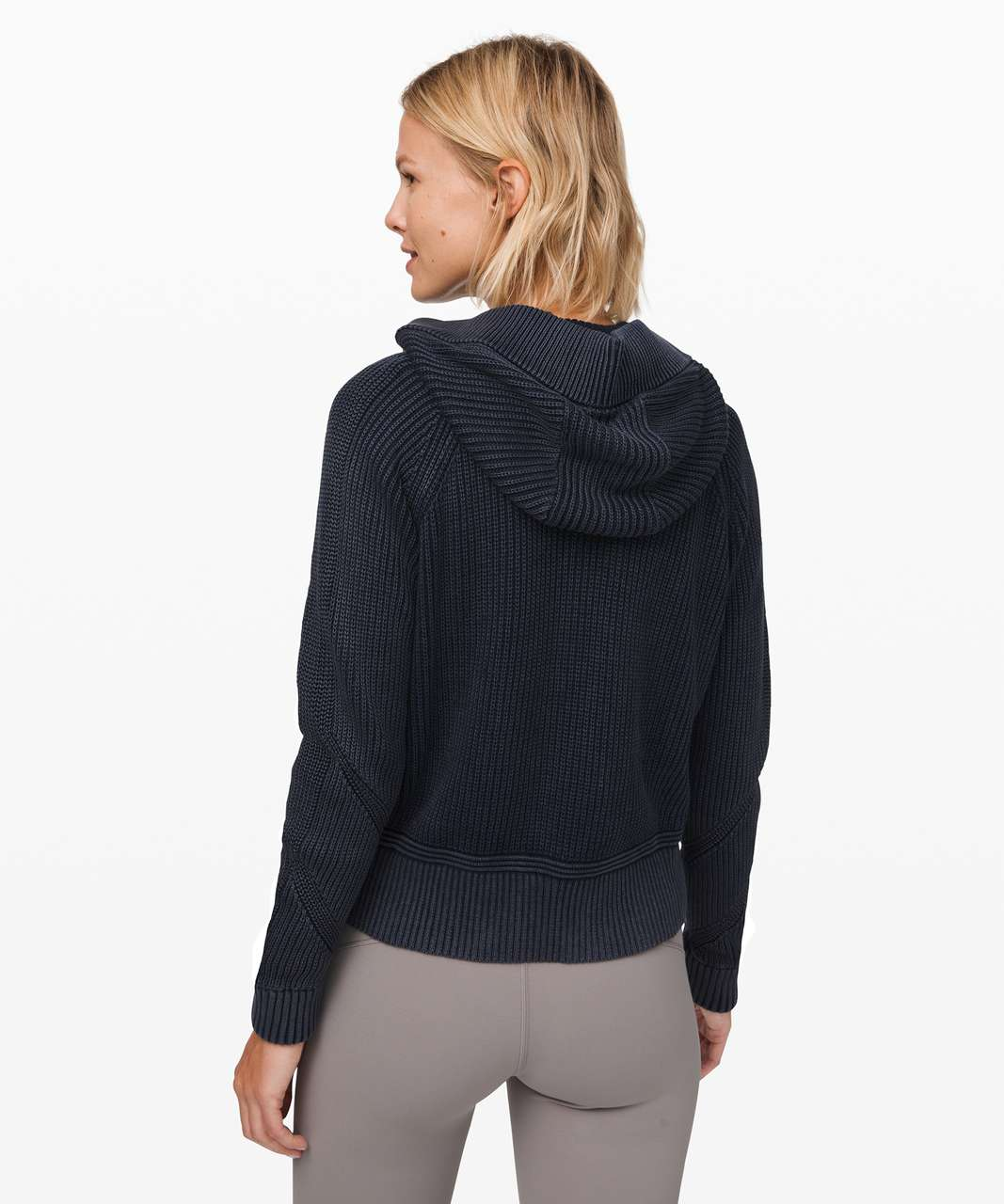 Lululemon Rest Assured Full Zip Hoodie - Washed Midnight Navy
