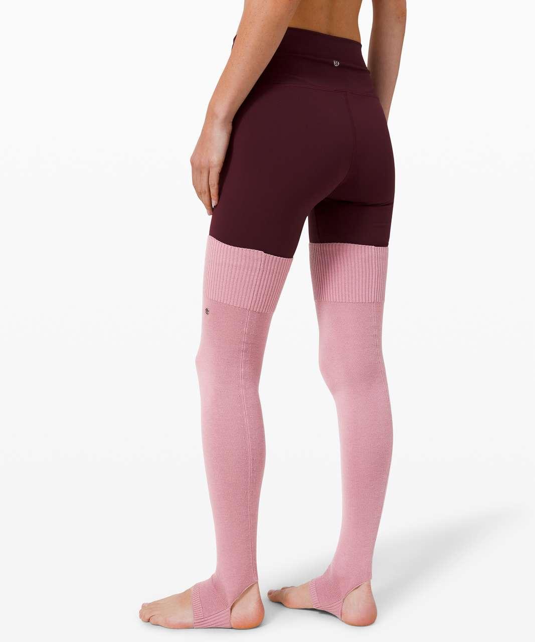 Lululemon Evolution Leg Warmer - Pink Taupe