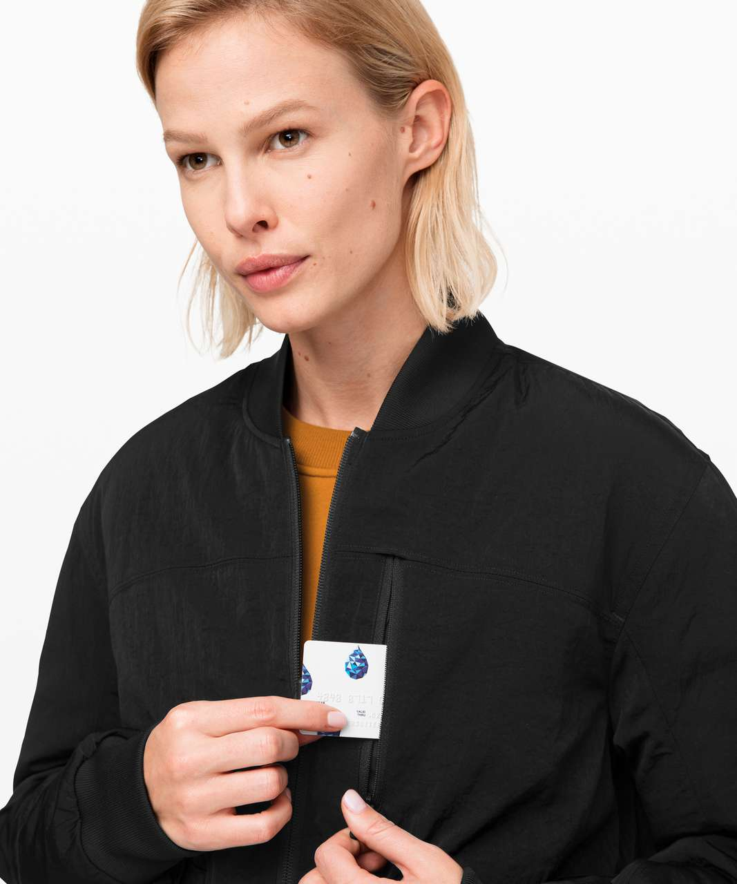 Lululemon Roam Far Bomber - Black