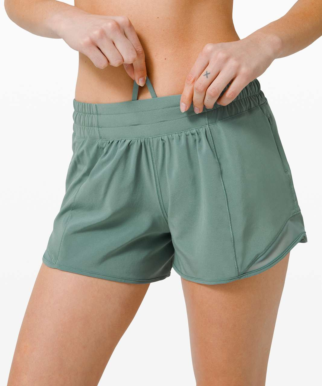 "Lululemon Hotty Hot Short II *Long 4"" - Tidewater Teal"