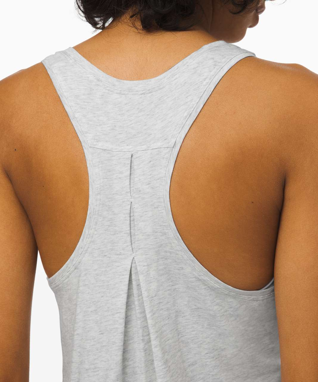 Lululemon Love Tank *Pleated - Heathered Core Ultra Light Grey