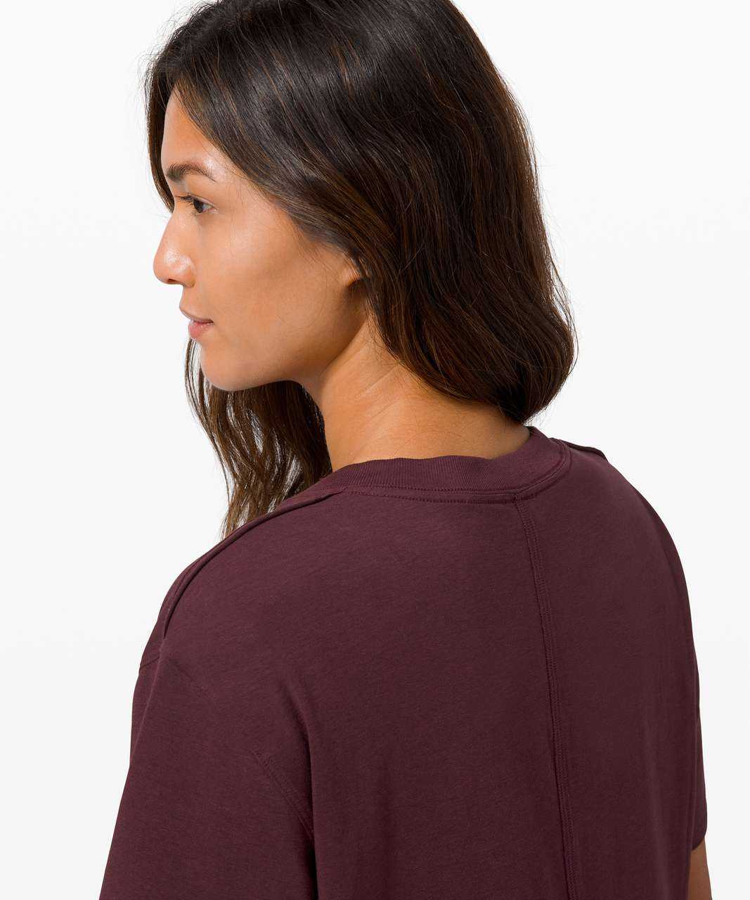 Lululemon All Yours Boyfriend Tee - Cassis