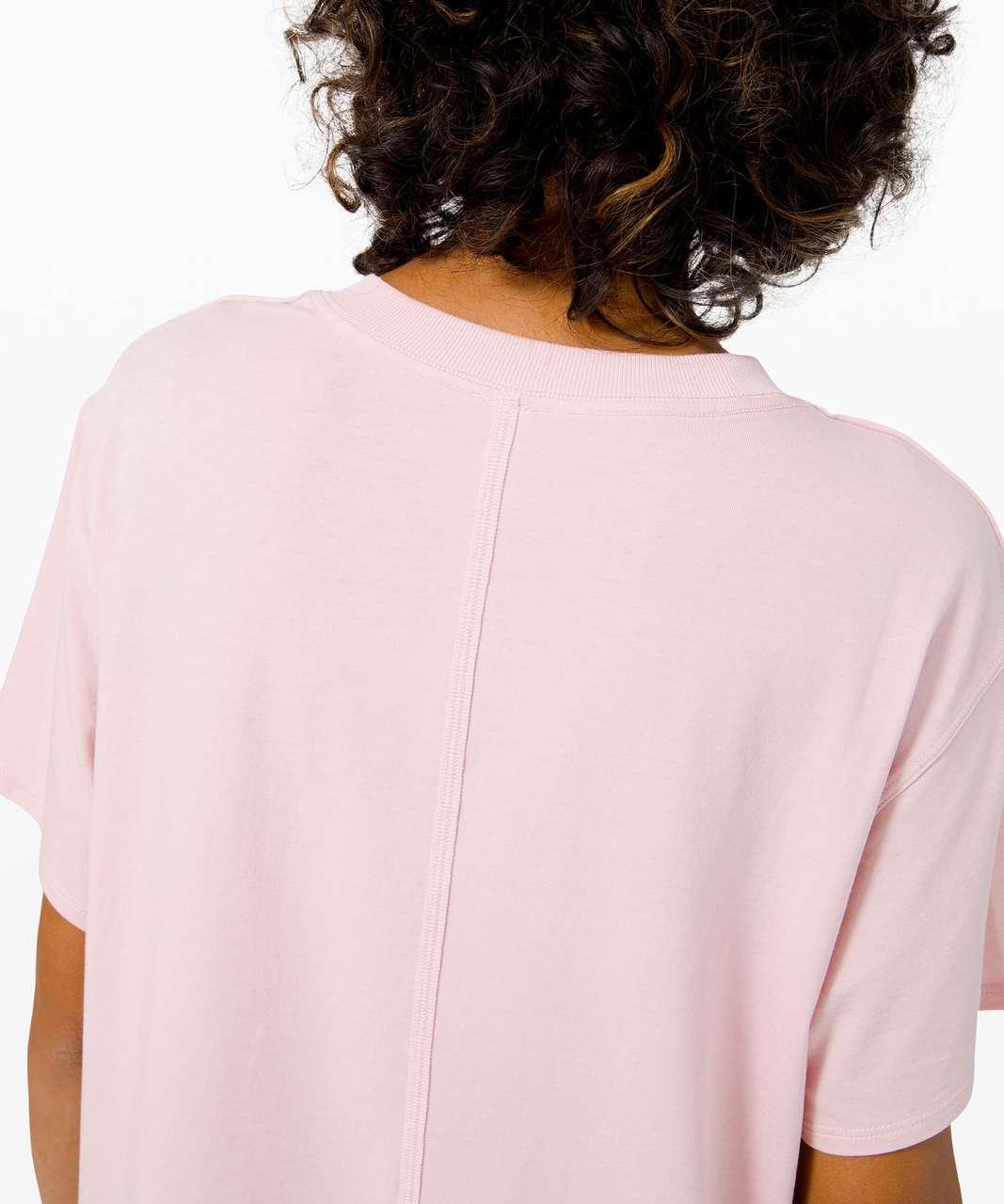 Lululemon All Yours Boyfriend Tee - Porcelain Pink