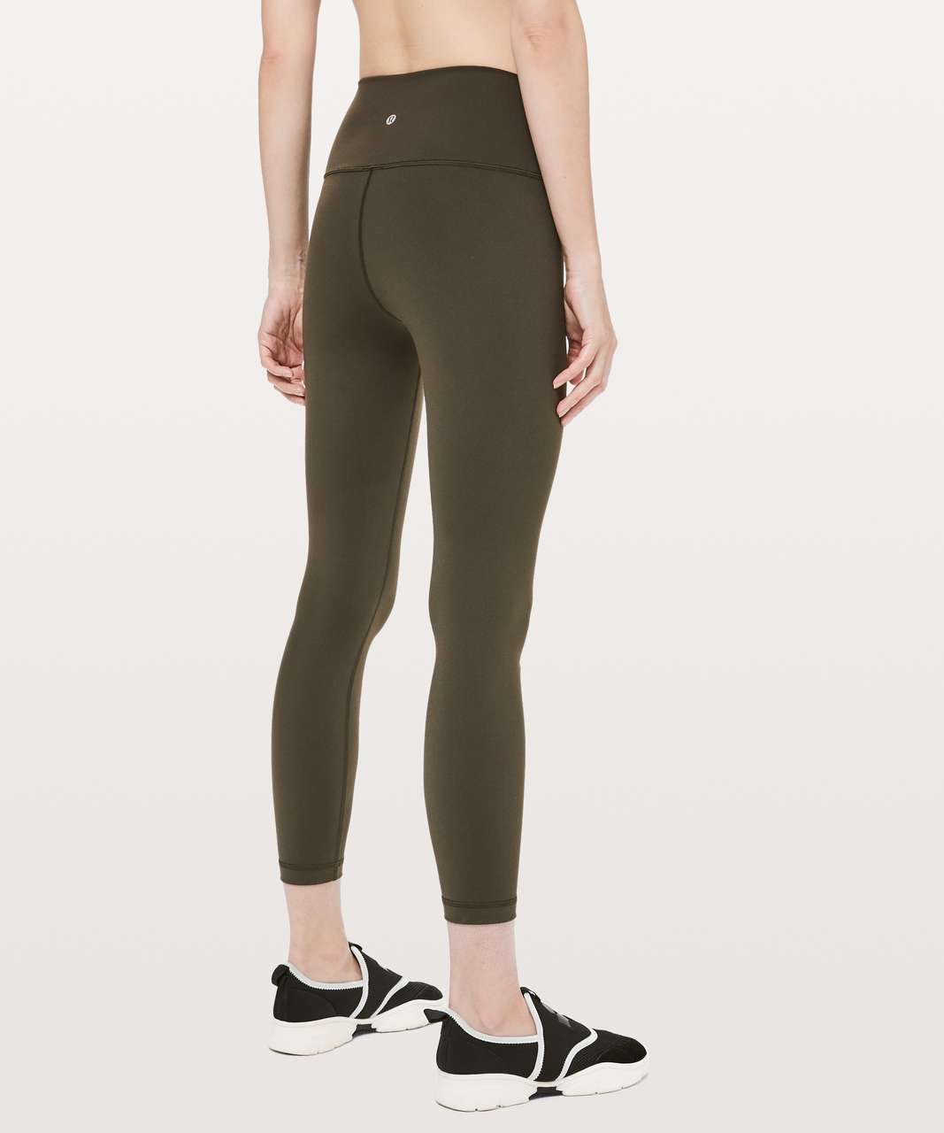 "Lululemon Wunder Under High-Rise Tight 25"" *Full-On Luon - Dark Olive"