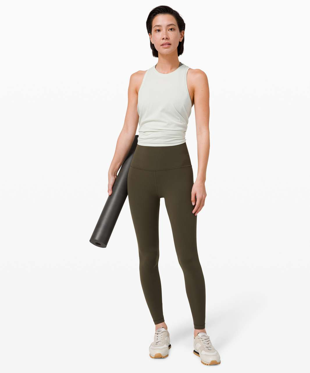 "Lululemon Align Super-High Rise Pant 28"" - Dark Olive (Second Release)"
