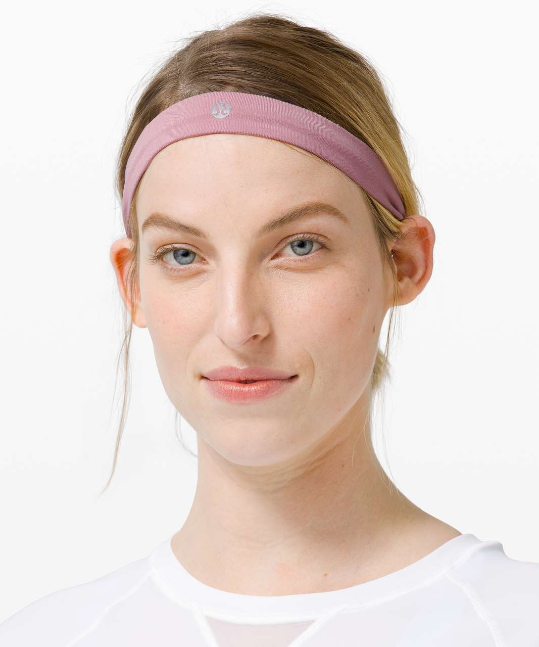 Lululemon Cardio Cross Trainer Headband - Pink Taupe / Ballet Slipper