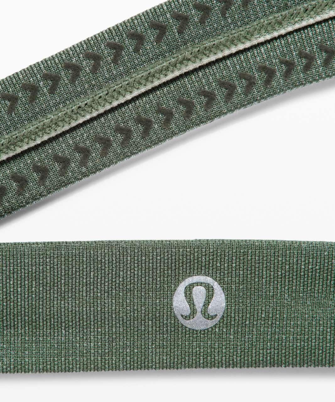 Lululemon Cardio Cross Trainer Headband - Algae Green / Springtime