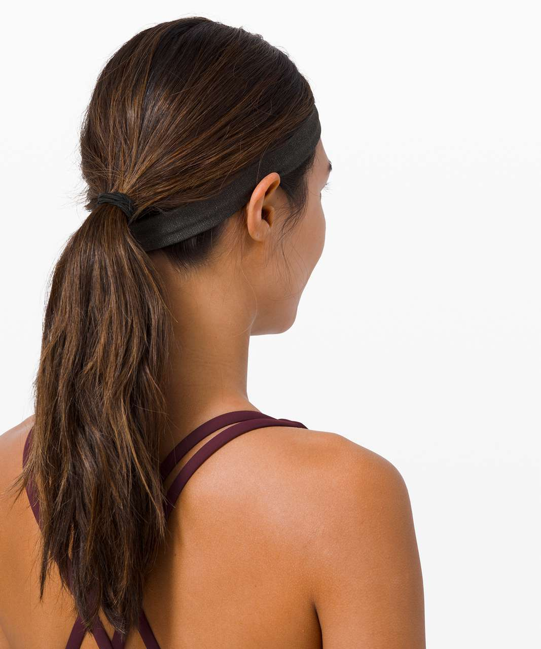 Lululemon Cardio Cross Trainer Headband - Graphite Grey / Vapor