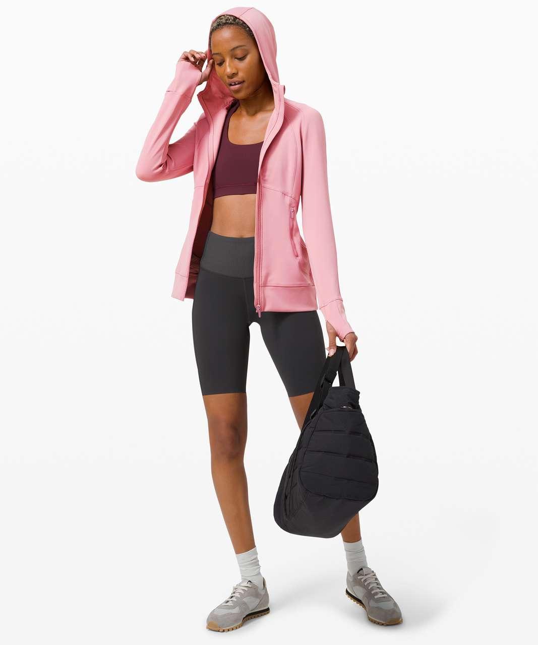 Lululemon Day Maker Full Zip Hoodie - Pink Taupe