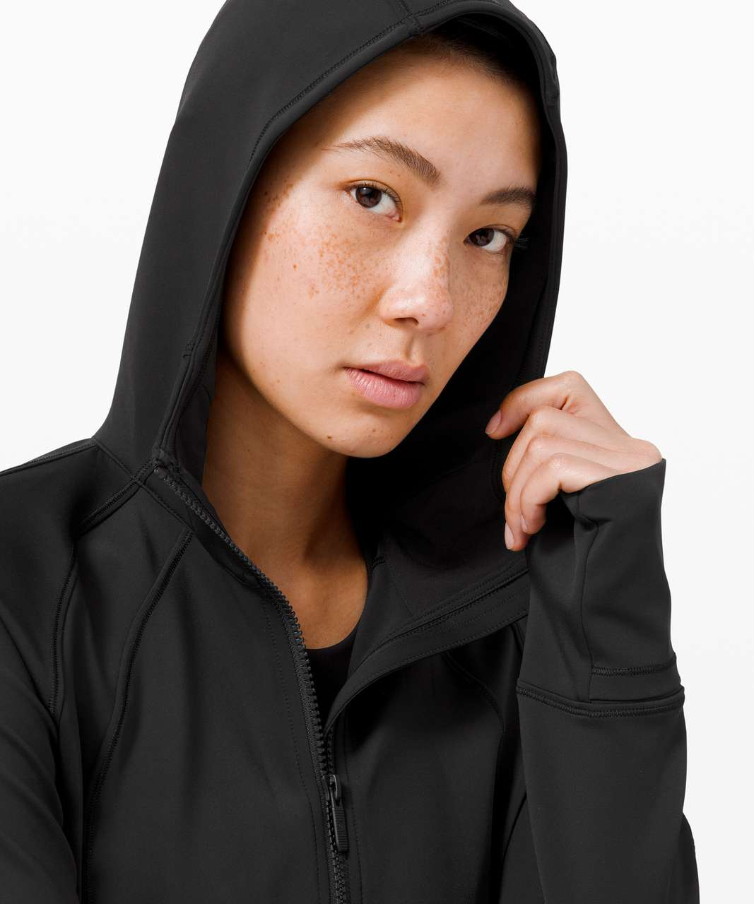 Lululemon Day Maker Full Zip Hoodie - Black