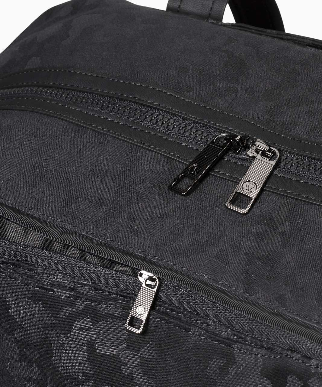 Lululemon Out Of Range Duffel *33L - Fragment Camo Jacquard Black Deep Coal