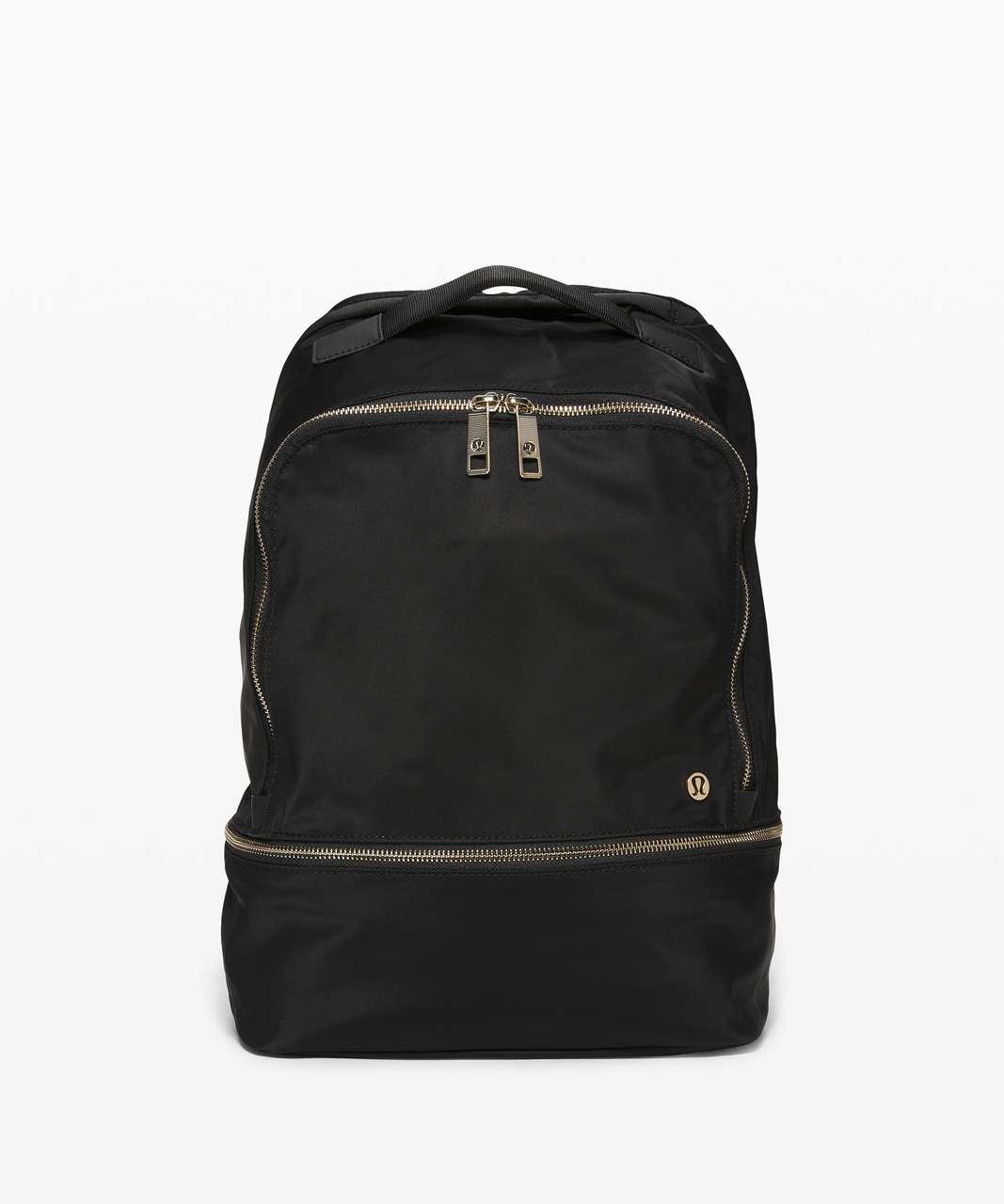 Lululemon City Adventurer Backpack *17L - Black / Gold