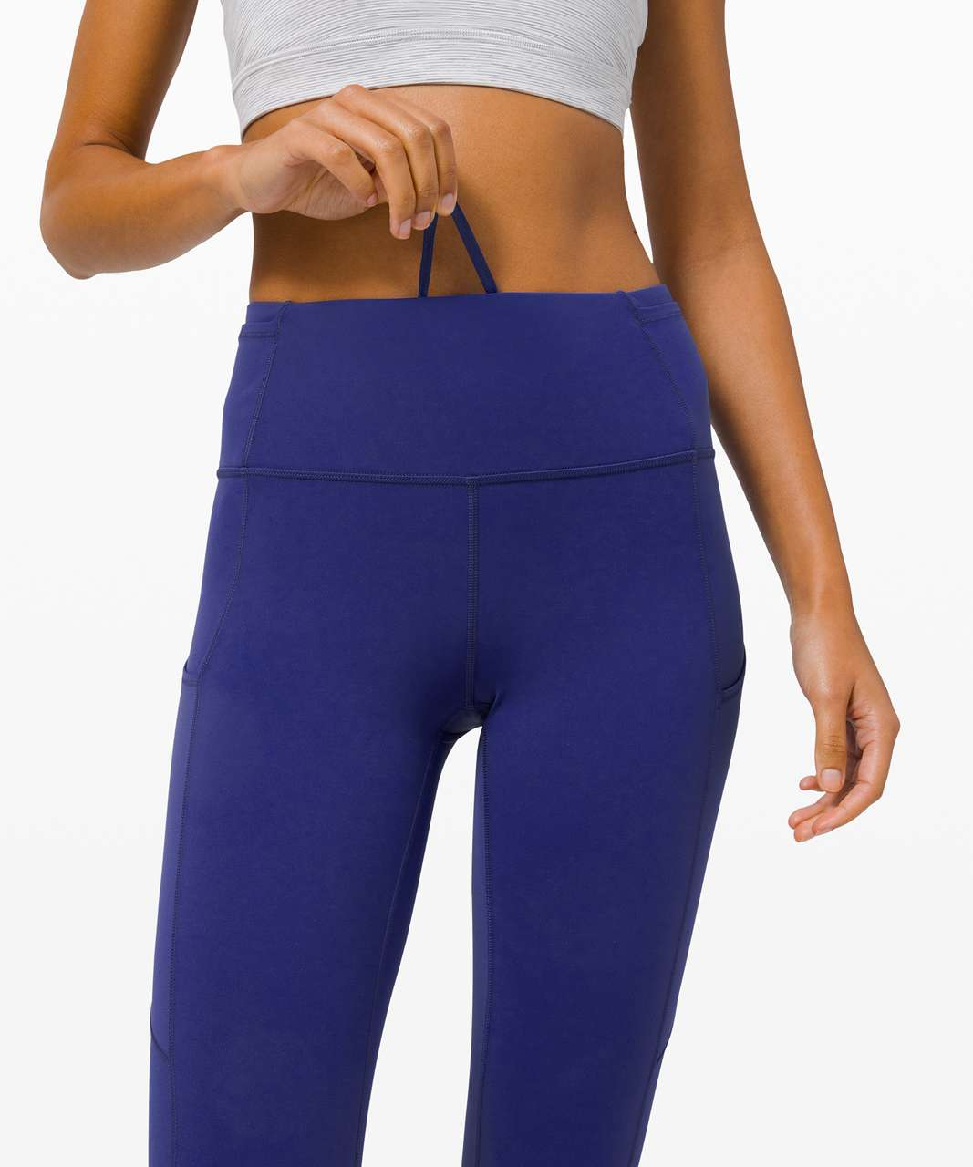 "Lululemon Fast and Free Tight 28"" *Non-Reflective - Larkspur"