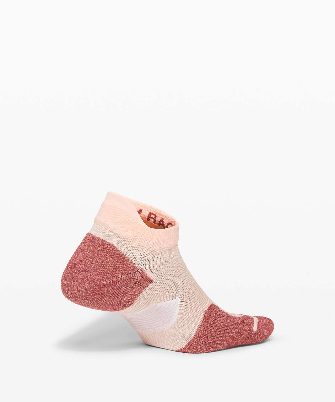Lululemon Speed Sock *Silver - Ballet Slipper / Chianti