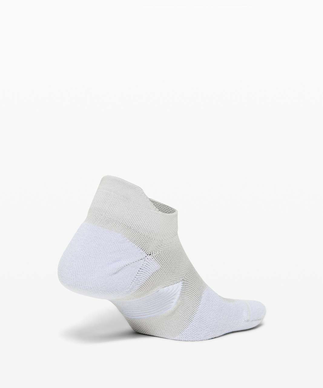 Lululemon Speed Sock *Silver - Stargaze / White