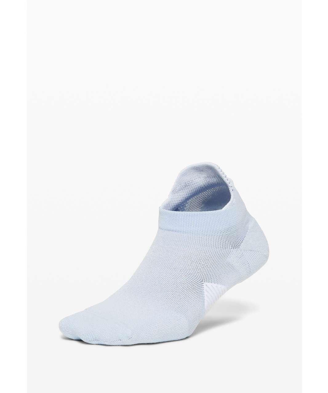 Lululemon Speed Sock *Silver - Daydream / White