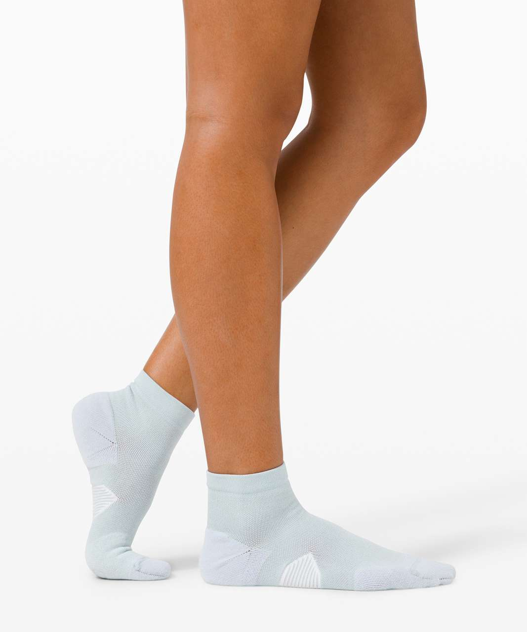 Lululemon Speed Ankle Sock *Silver - Daydream / White