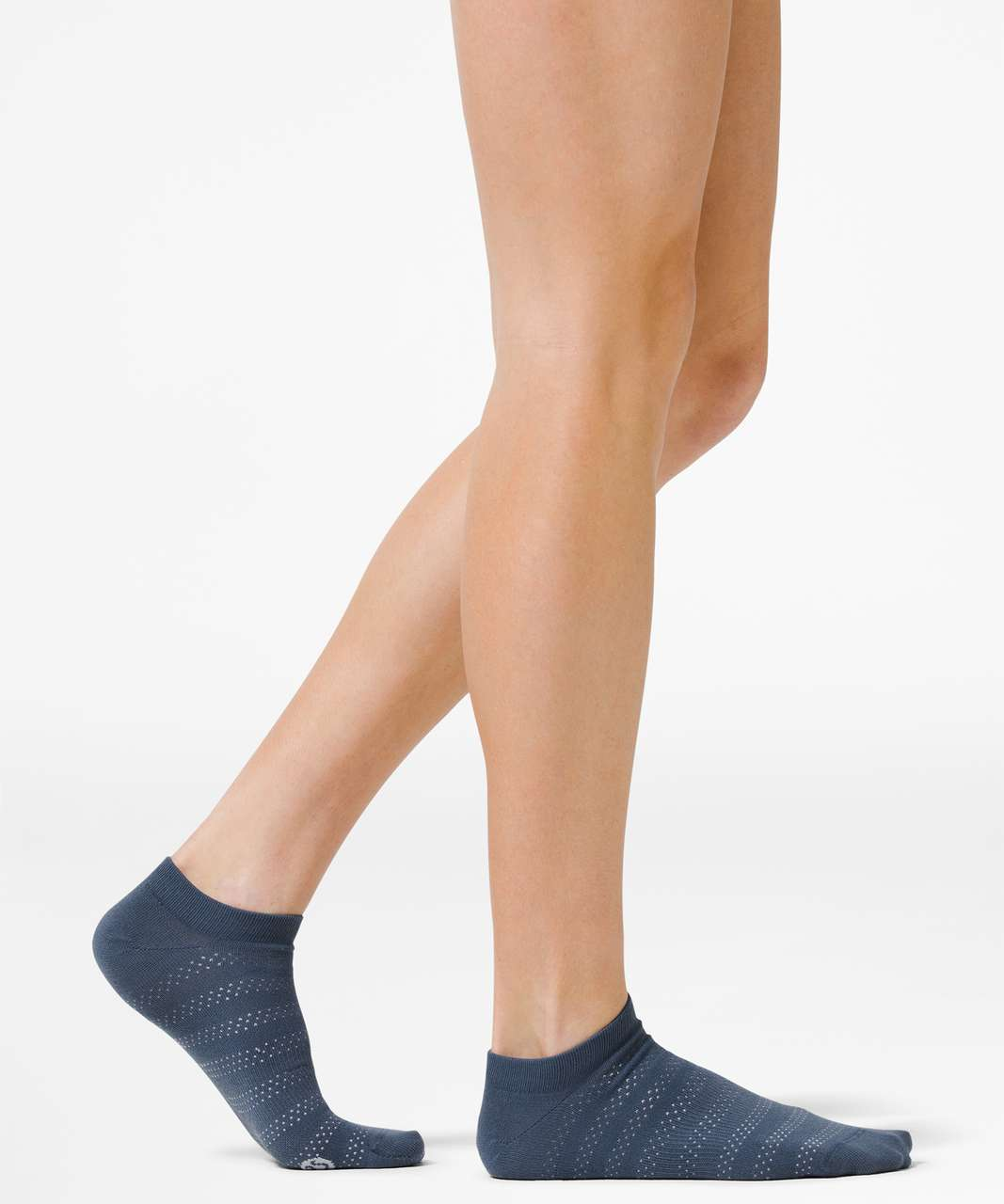 Lululemon On the Fly Sock *3-Pack - Ink Blue / Daydream / White