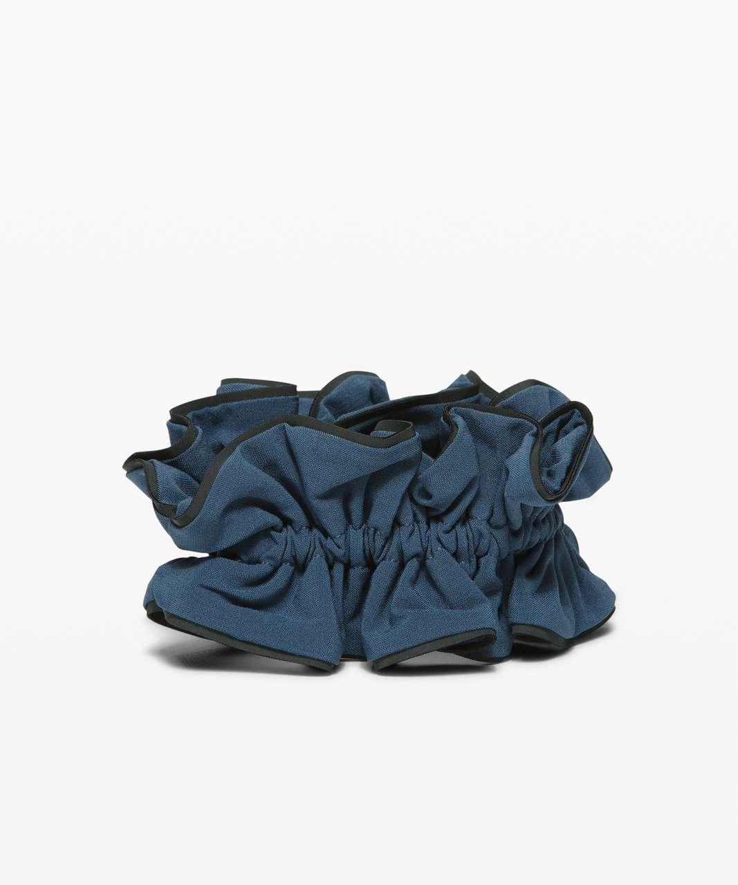 Lululemon Light Locks Scrunchie II - Ink Blue