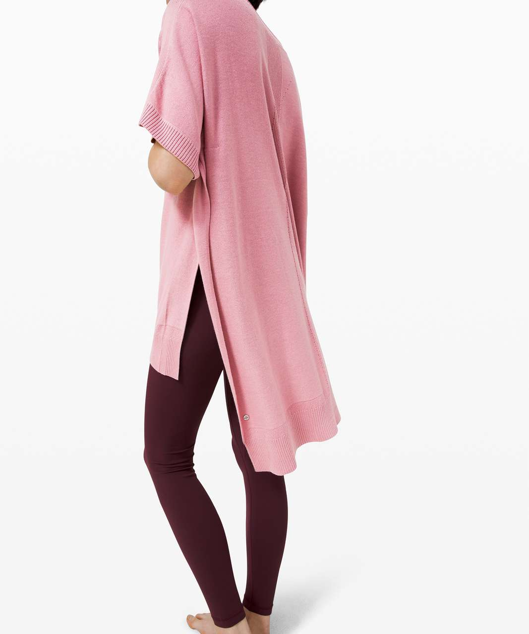 Lululemon Be At Ease Poncho - Pink Taupe