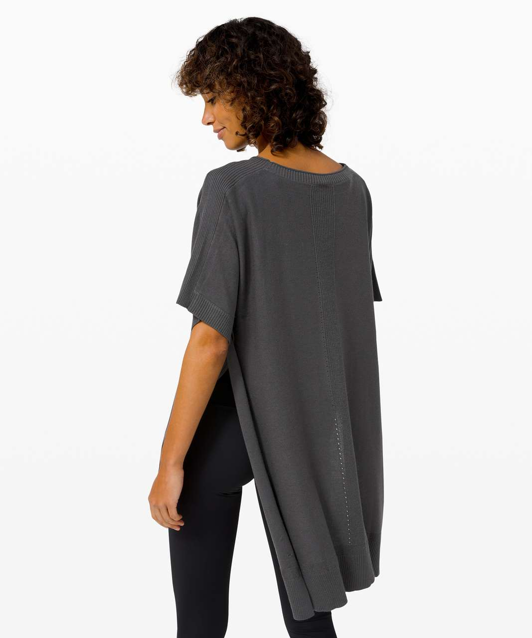 Lululemon Be At Ease Poncho - Graphite Grey
