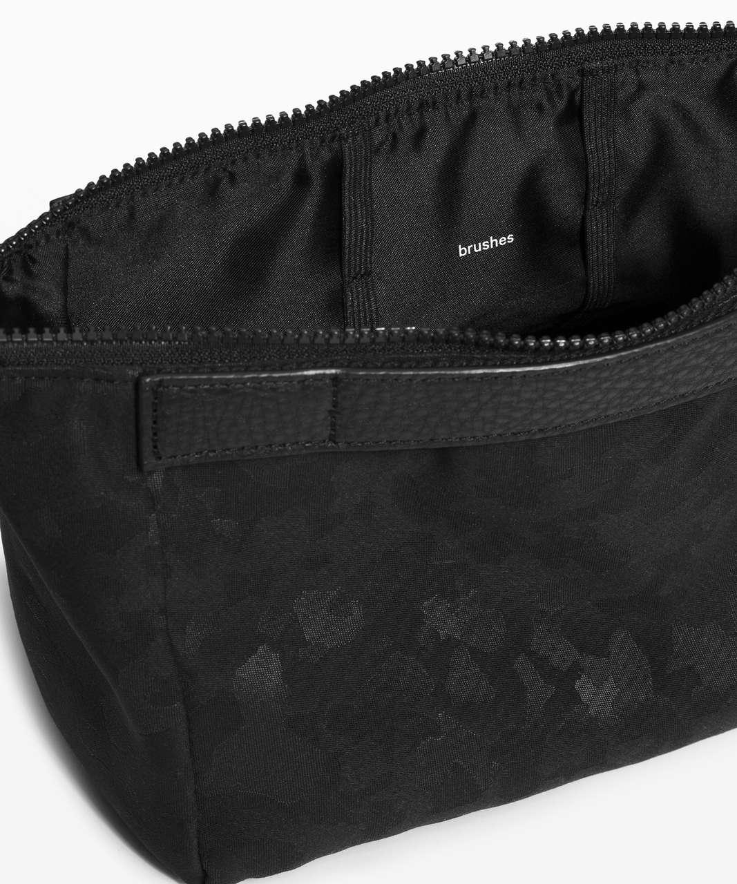 Lululemon Travel Easy Kit *4.5L - Fragment Camo Jacquard Black Deep Coal