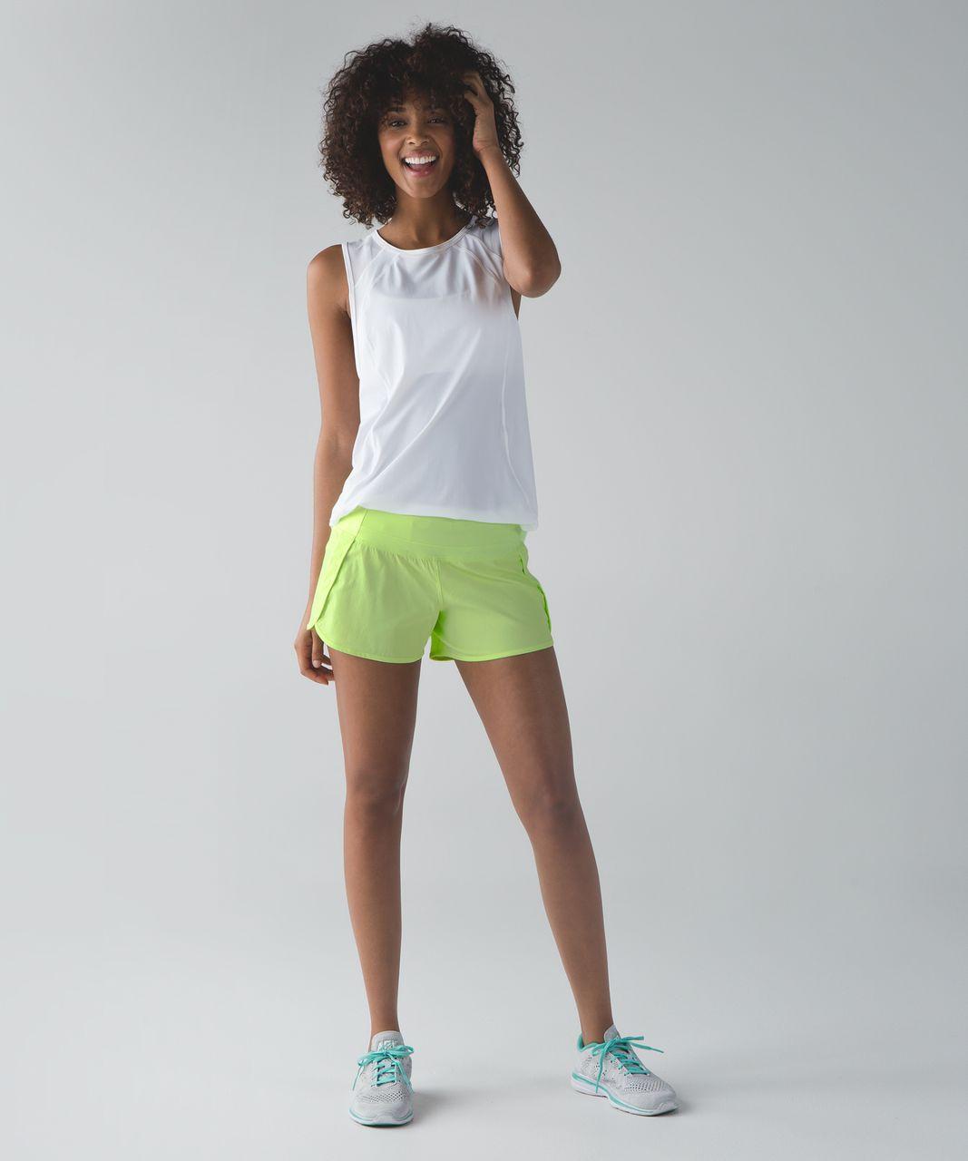 Lululemon Run Times Short (4-way Stretch) - Clear Mint