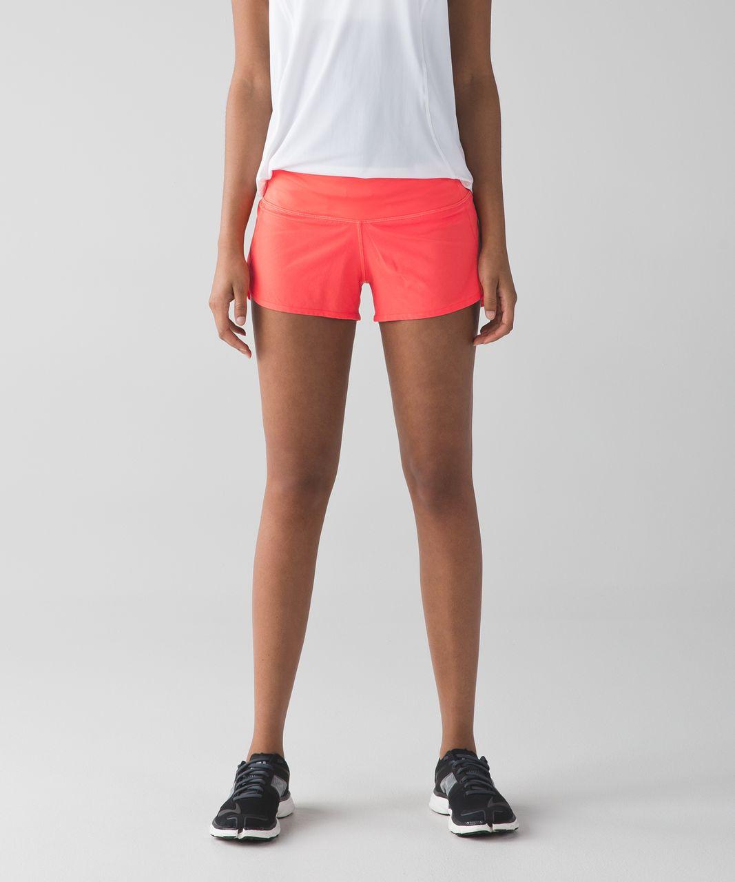 "Lululemon Speed Short *4-way Stretch 2.5"" - Cape Red"