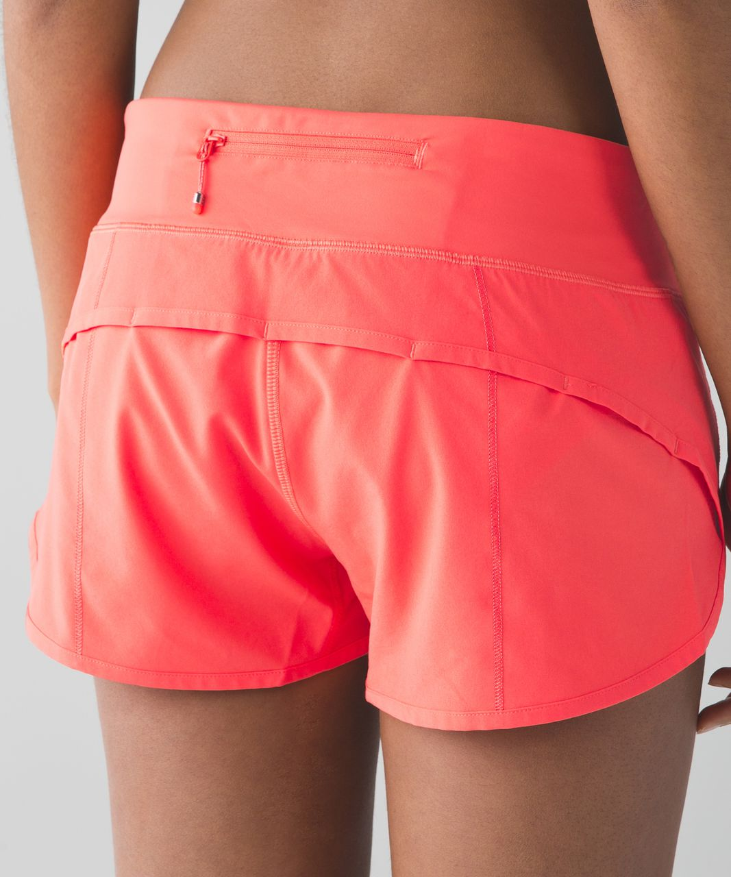 "Lululemon Speed Short *4-way Stretch 2.5"" - Cape Red"