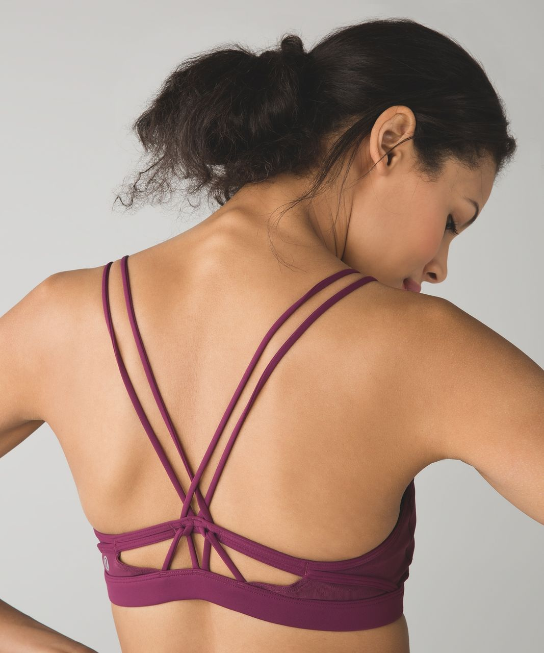 Lululemon Make A Move Bra - Red Grape