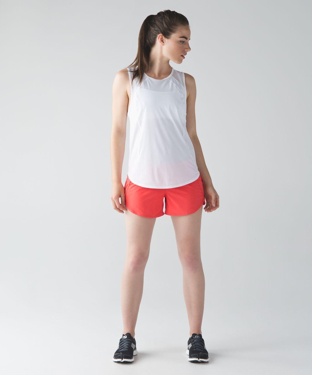 Lululemon Tracker Short IV (4-way Stretch) - Cape Red