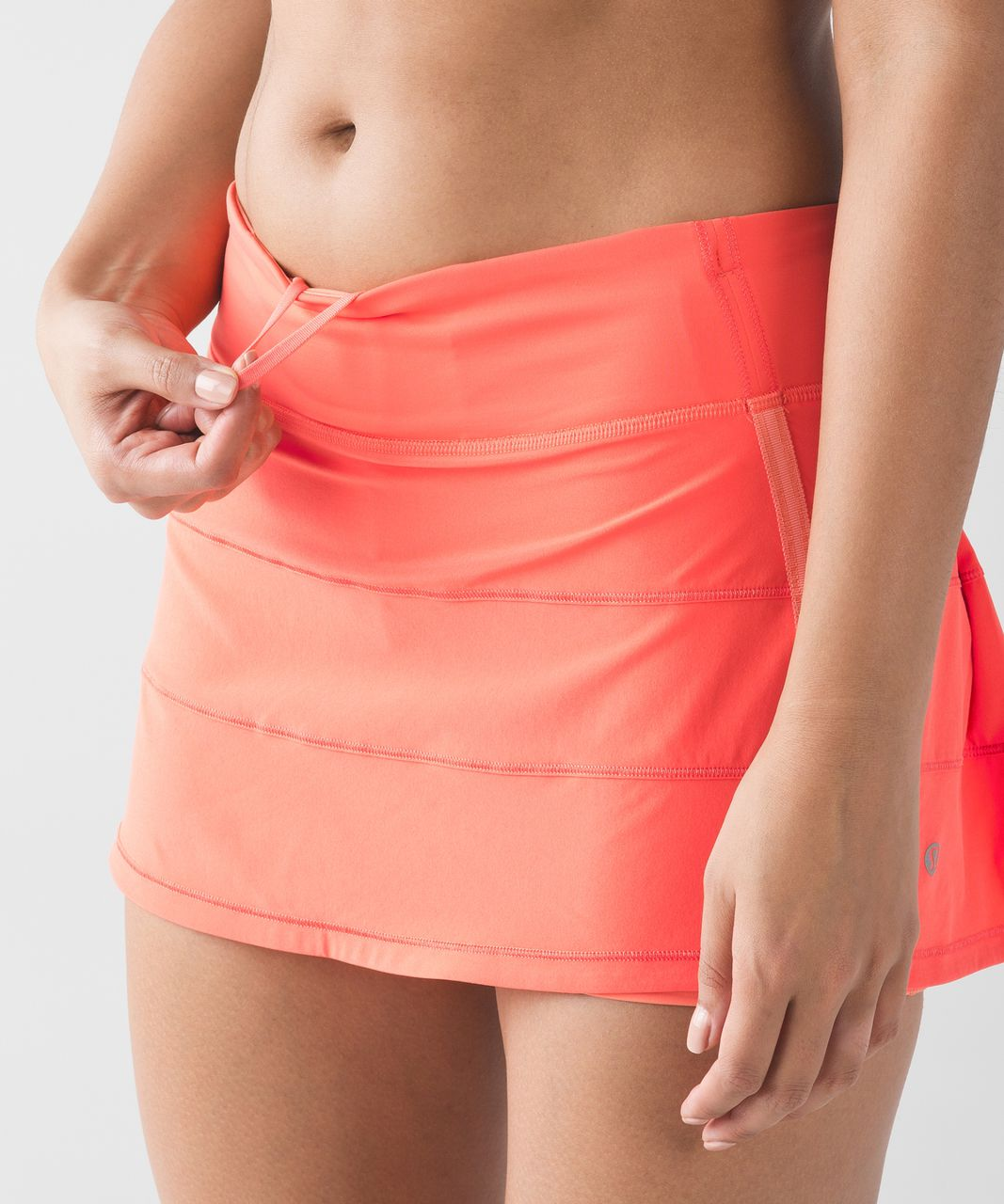 Lululemon Pace Rival Skirt II (Regular) (4-way Stretch) - Cape Red