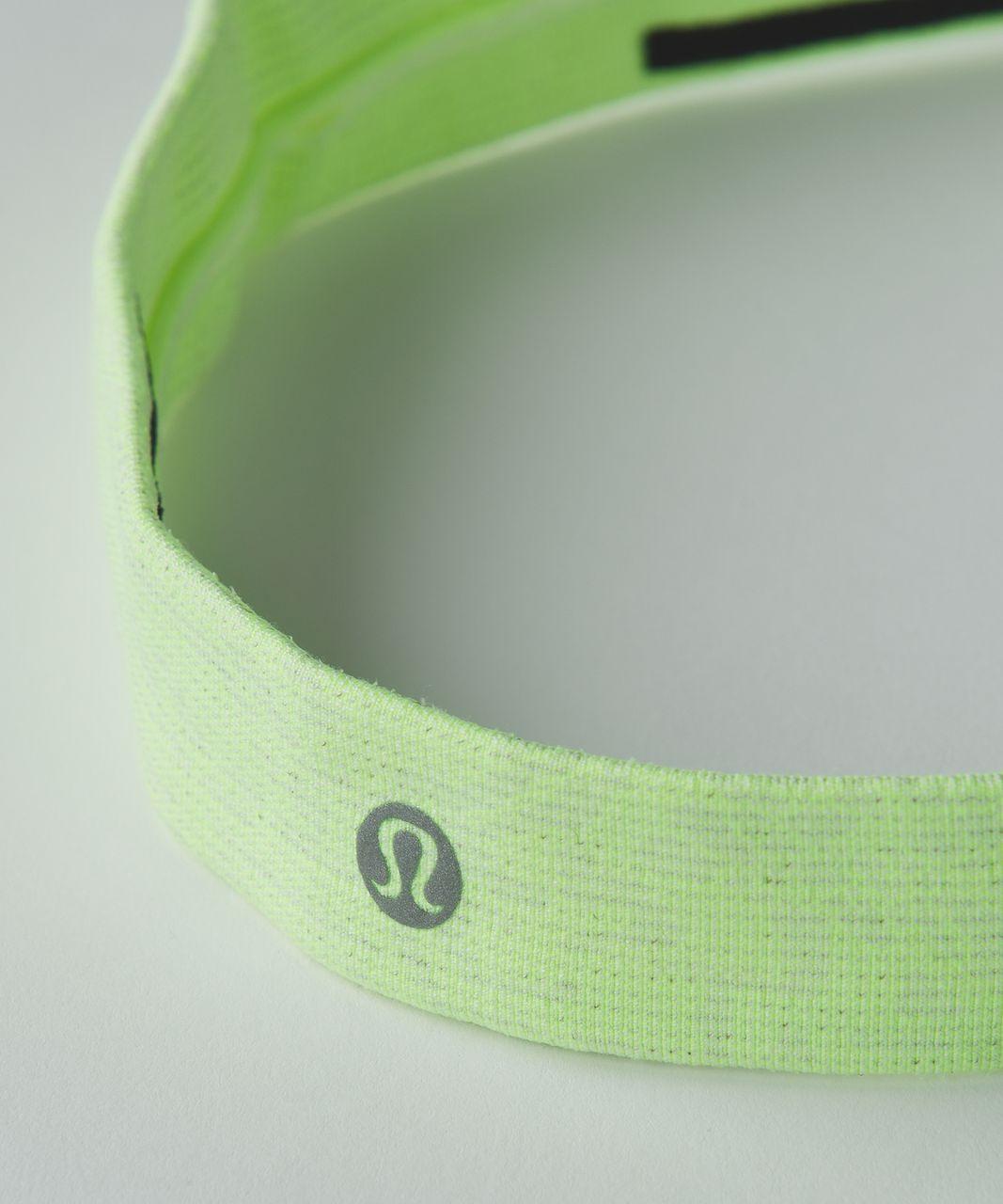 Lululemon Cardio Cross Trainer Headband - Heathered Clear Mint